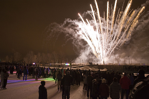 Old Port's Fire on Ice