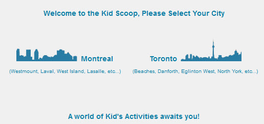 The Kid Scoop Montreal & Toronto