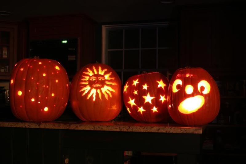 Sadies pumpkin carving contest