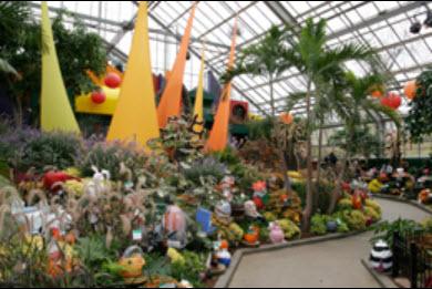 botanical garden pumpkin ball