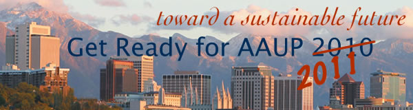 AAUP 2010 Wrap-Up Newsletter