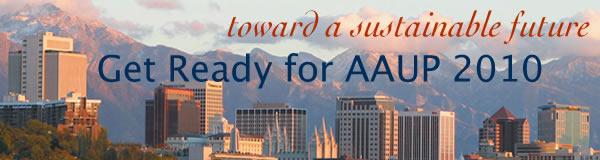 AAUP 2010 Newsletter Header