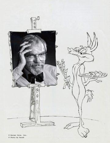 Chuck Jones by Wile E. Coyote