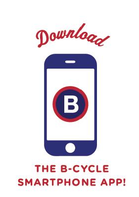 B-cycle smartphone app