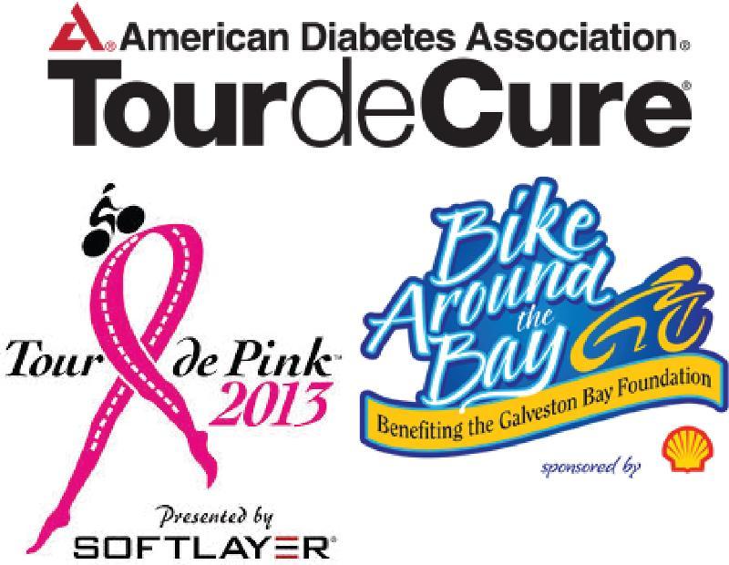 local bike ride logos