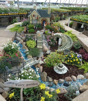 Begin by designing your garden using miniature plants along with small  furniture and other mini d cor  Fairy Gardens can be created in a container  if space. June is in Bloom