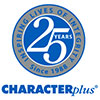 C+ 25th logo