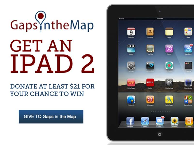 ipad giveaway graphic
