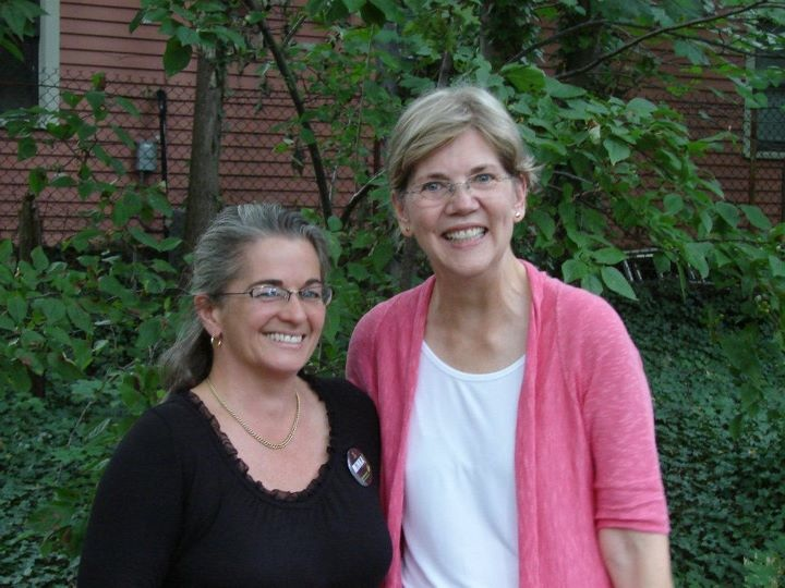 Minka and Elizabeth Warren