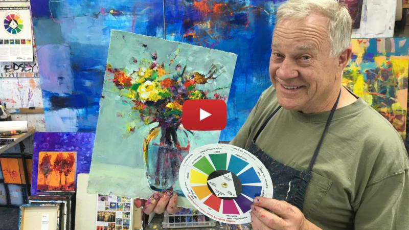 Goof Proof Color Wheel works for Abstract and Realism