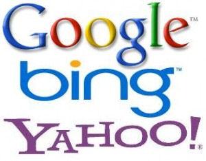 Google Bing Yahoo