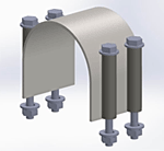 Vibration Pipe Clamp