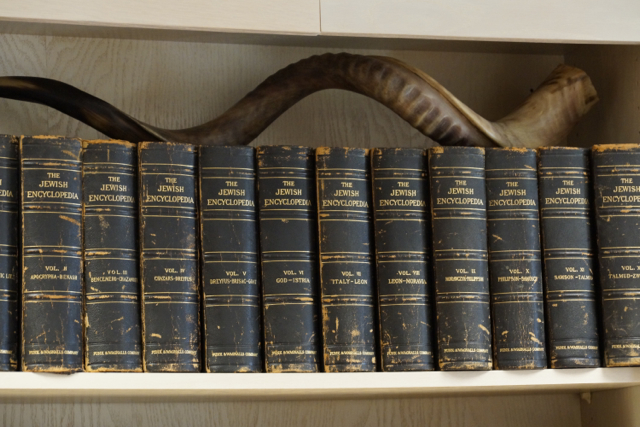 Rabbi Black Bookshelf