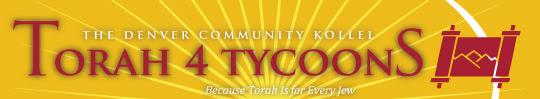 Torah 4 Tycoons Logo