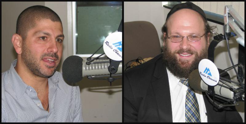 Yosh and Rabbi Fleisher