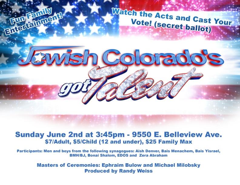 Jewish Colorado's Got Talent