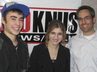 Ben Weil, Georgie Seserman and Rabbi Michael Sunshine