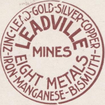 Leadville Stamp