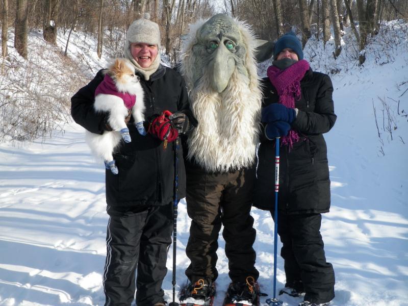 snowshoe troll