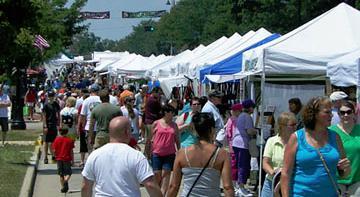 Art Fair Crowd 2013