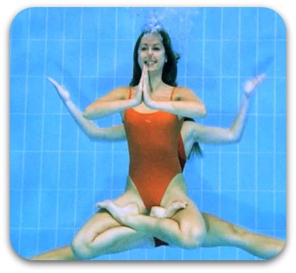 aquatic dance duo video