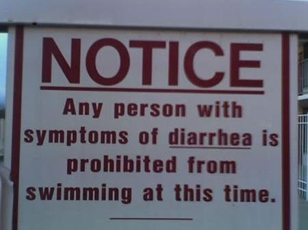diarrhea policy