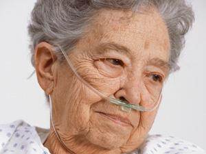 geriatric lady needing aquatic therapy