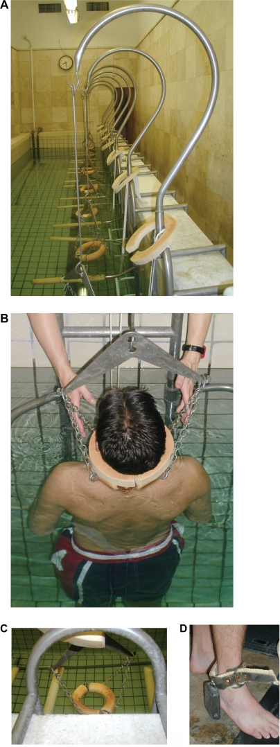 aquatic cervical traction
