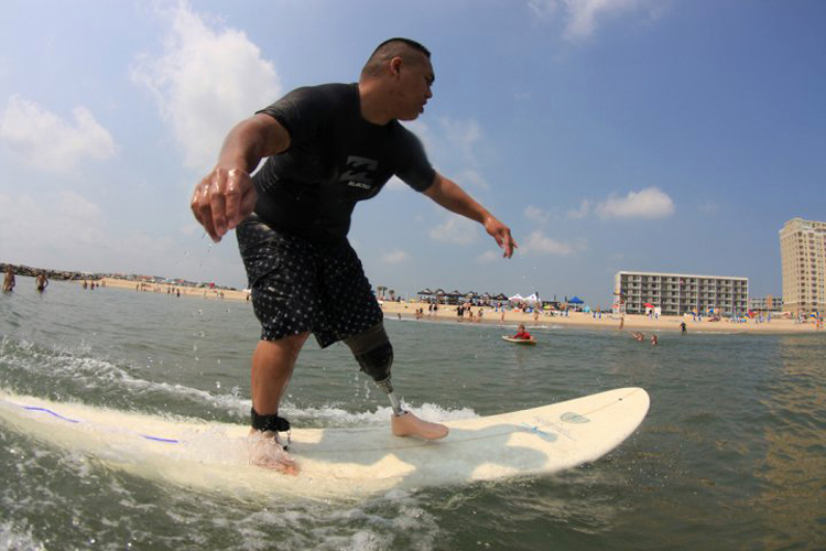 Surfing for wounded warriors