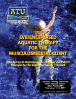 Evidence based aquatic therapy