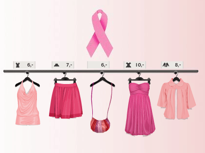 Breast cancer pink