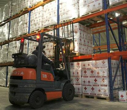 Aid Warehouse - Reuters