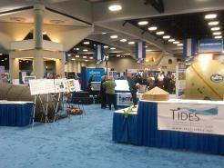 AFCEA West booths at the San Diego Convention Center