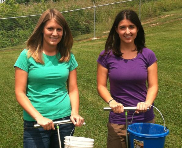 Ashley Kisamore and Natasha Teter, Nutrient Management Specialists