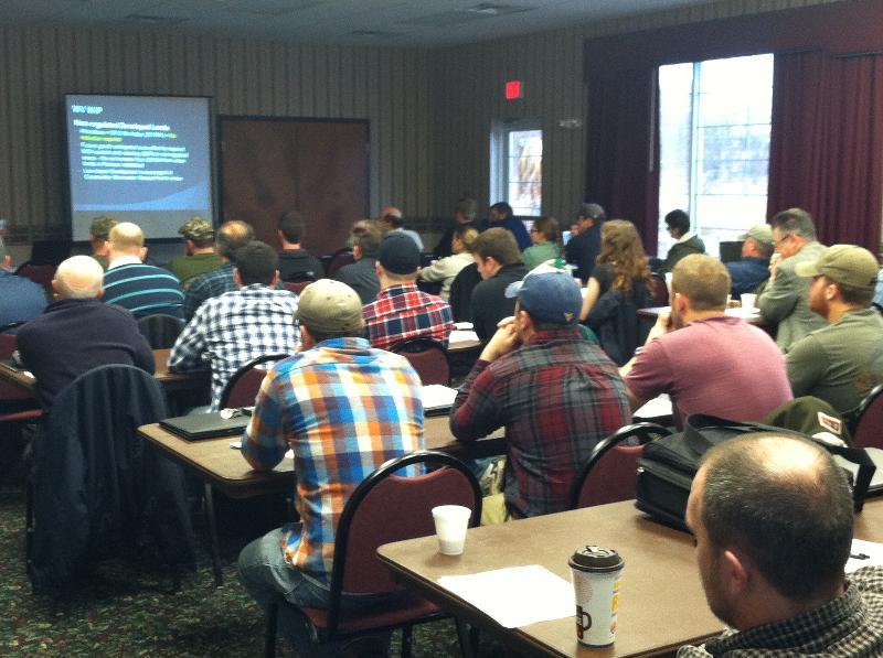 Stormwater Manual Workshop in Romney