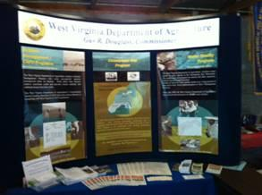 WVDA Public Display at Local Functions