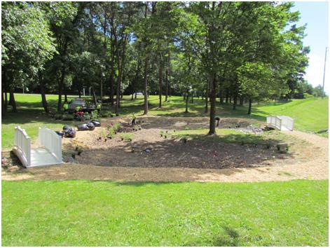 I-81 Rain Garden Planting