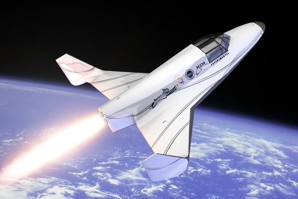 XCOR Lynx suborbital vehicle