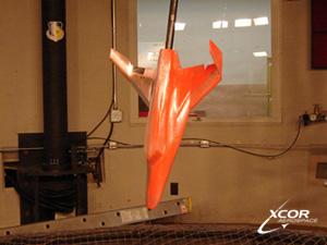 Lynx wind tunnel model at AFRL in Dayton