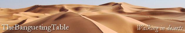 Walking in deserts