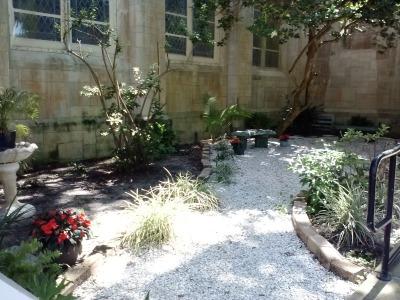 a garden spot to talk to god. Black Bedroom Furniture Sets. Home Design Ideas