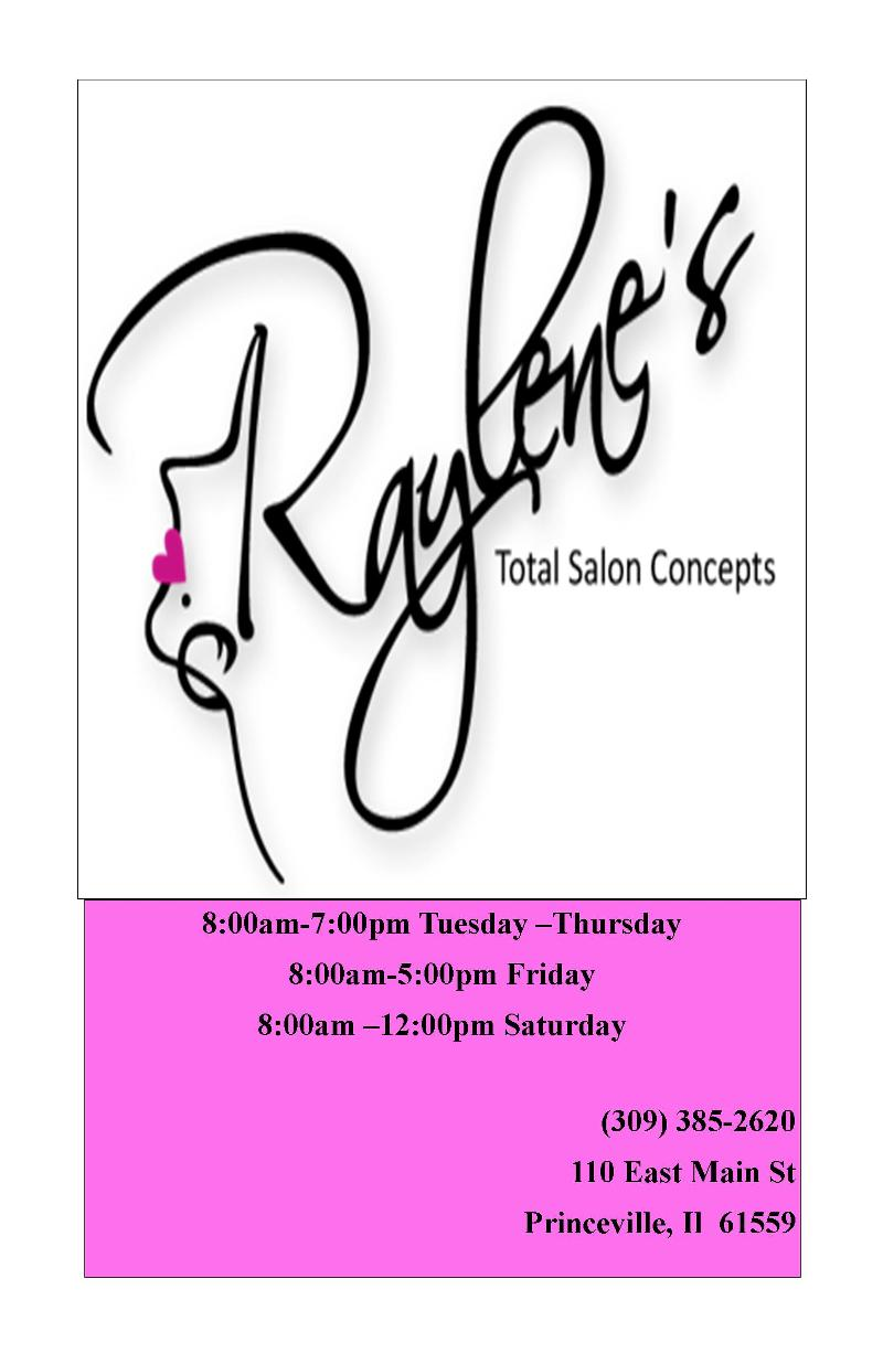 Princeville civic association newsletter shop princeville for A total concept salon