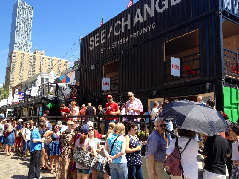 TKTS at South Street Seaport Reopens!
