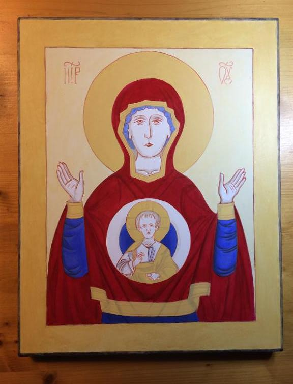 Virgin of the Sign Icon