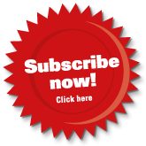 Subscribe red sticker