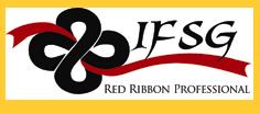 Red Ribbon framed