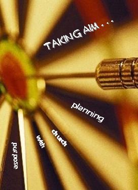 Taking Aim Target