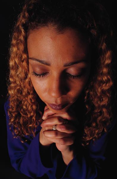 woman praying 2
