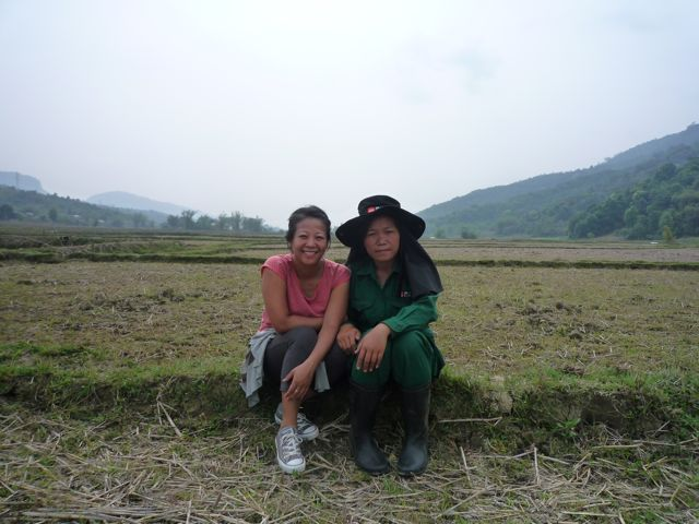 Ms. Peng leads an all-female demining team in Xieng Khoang.