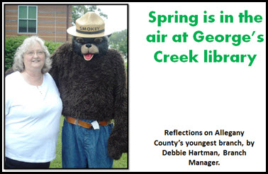 Spring is in the air at George's Creek